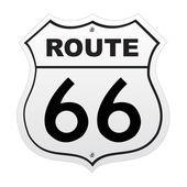 Route 66 — Vettoriale Stock