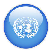 United Nation button — Stock Vector