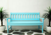 Blue chair — Stock Photo