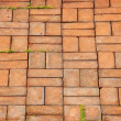 Texture of walkway brick — Stock Photo