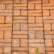 Texture of walkway brick - Stock Photo