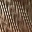 Abstact wave curve pattern on wall — Stock Photo #27412277