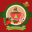 Christmas card.Vector image - Stock Vector