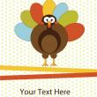 Thanksgiving turkey — Stock Vector