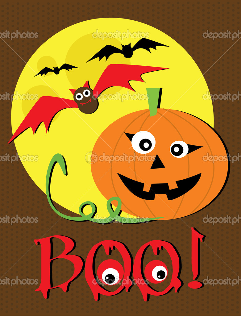 Halloween Text — Stockvectorbeeld #16932463