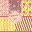 Vintage pattern set. - Stock Photo