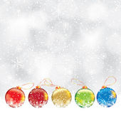 Abstract winter Christmas background — Cтоковый вектор