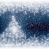 Abstract winter background — Cтоковый вектор