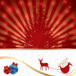 Abstract winter Christmas background — Stock Vector