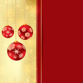 Abstract winter Christmas background — 图库矢量图片