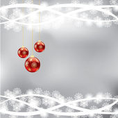 Abstract winter Christmas background — Stok Vektör