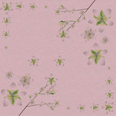 Spring material pattern background — Vector de stock