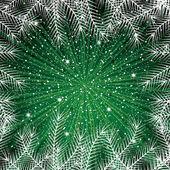 Nový rok pozadí abstraktní zimní — Stock vektor