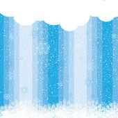 Abstraktní zimní vánoční pozadí — Stock vektor