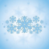 Abstract winter Christmas background — Stockvector