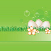 Spring easter background — Stock Vector