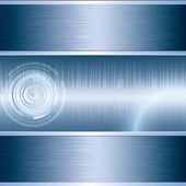 Blue abstract tech background — Stock Vector