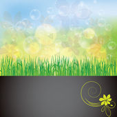Abstract spring summer background — Stock Vector