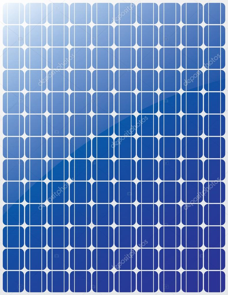 Solar panel vector — Stock Vector © evryka23 #22834916