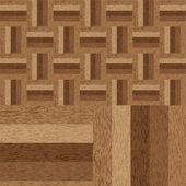 Struttura in legno parquet — Vettoriale Stock