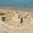 Sand Castle on Beach  — Stockfoto