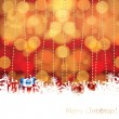Abstract winter Christmas background — Stock Vector #32146699