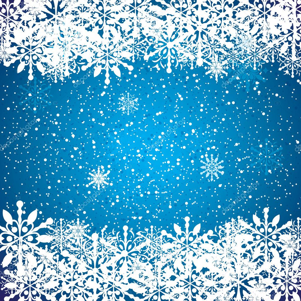 Abstract blue winter christmas background stock vector 169 evryka23