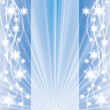 Abstract blue winter Christmas background — Vector de stock #36349979