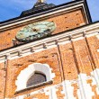Old tower on main square in town Krakow Poland — Stock Photo #12600240