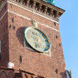 Wawel castle tower in town Krakow Poland — Stock Photo