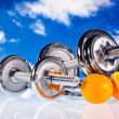 Fitness equipment - Stock Photo