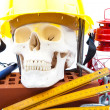 Working to death — Stock Photo
