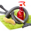 Cleaning supplies - Stockfoto