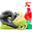 Stock Photo: Cleaning supplies