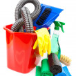 Cleaning supplies — 图库照片