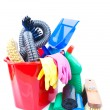 Cleaning supplies — Foto de Stock