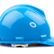 Stock Photo: Blue helmet