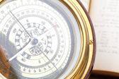 Marine compass — Stock Photo