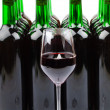 Wine bottles — Foto Stock