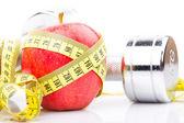 Fitness apple — Photo