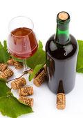 Garrafa de vinho — Foto Stock