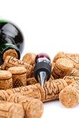 Wine accessories — Stock Photo