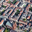 Aerial view of Opole city center , Poland — Stock Photo #13920807