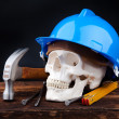 Death at work — Stock Photo
