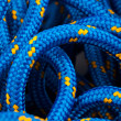 Marine blue rope texture — Stock Photo