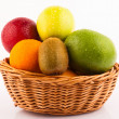 Basket of fruits — Foto de Stock