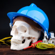 Death in work — Stock Photo