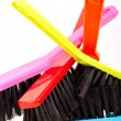 Colorful brush set — Stock Photo