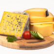 Royalty-Free Stock Photo: Various types of cheese