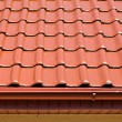 Red roof — Foto de Stock
